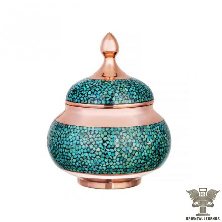 Copper turquoise pitcher Wholesalers