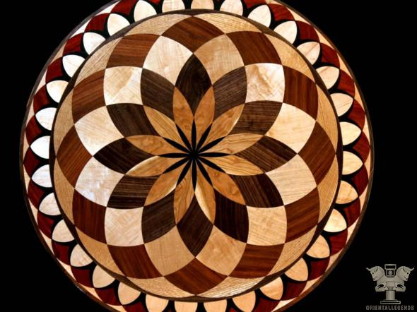 Focal supply of wood marquetry pictures