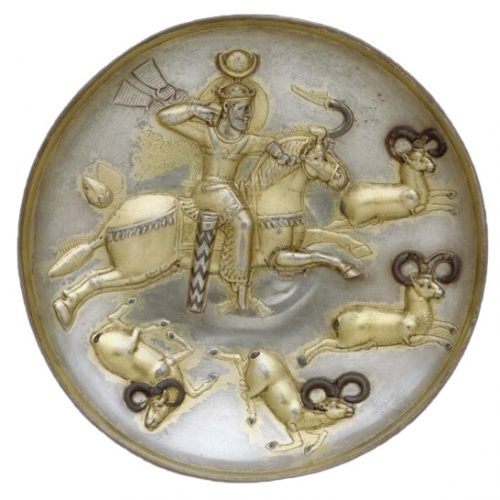 ancient enameling plate